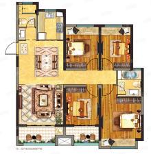 E1户型 4室2厅2卫