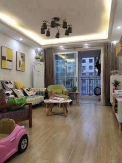 洋河紫金名门,精装修,家具家电全送,三室两厅一卫,