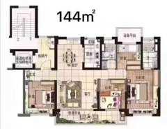 碧桂园文景阁4室2厅2卫精装各出各税
