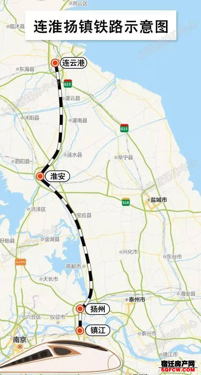 11月28日开通,到时候宿迁人乘高铁更方便啦!(图1)