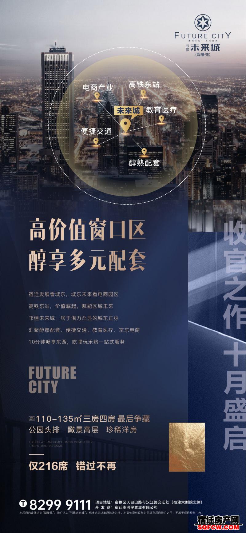 邗建未来城:高铁东站,多元配套